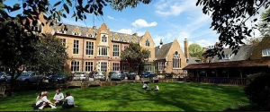 Godolphin and Latymer - outside grounds