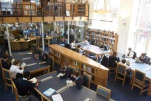 Библиотека в Emanuel School