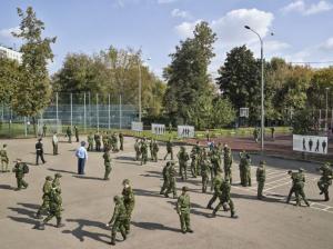 Московский кадетский корпус Героев Космоса 2014