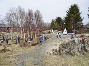 Utheim Skole, Karvag, Averoy, Норвегия