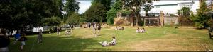 Channing School младшая школа - площадка для игр
